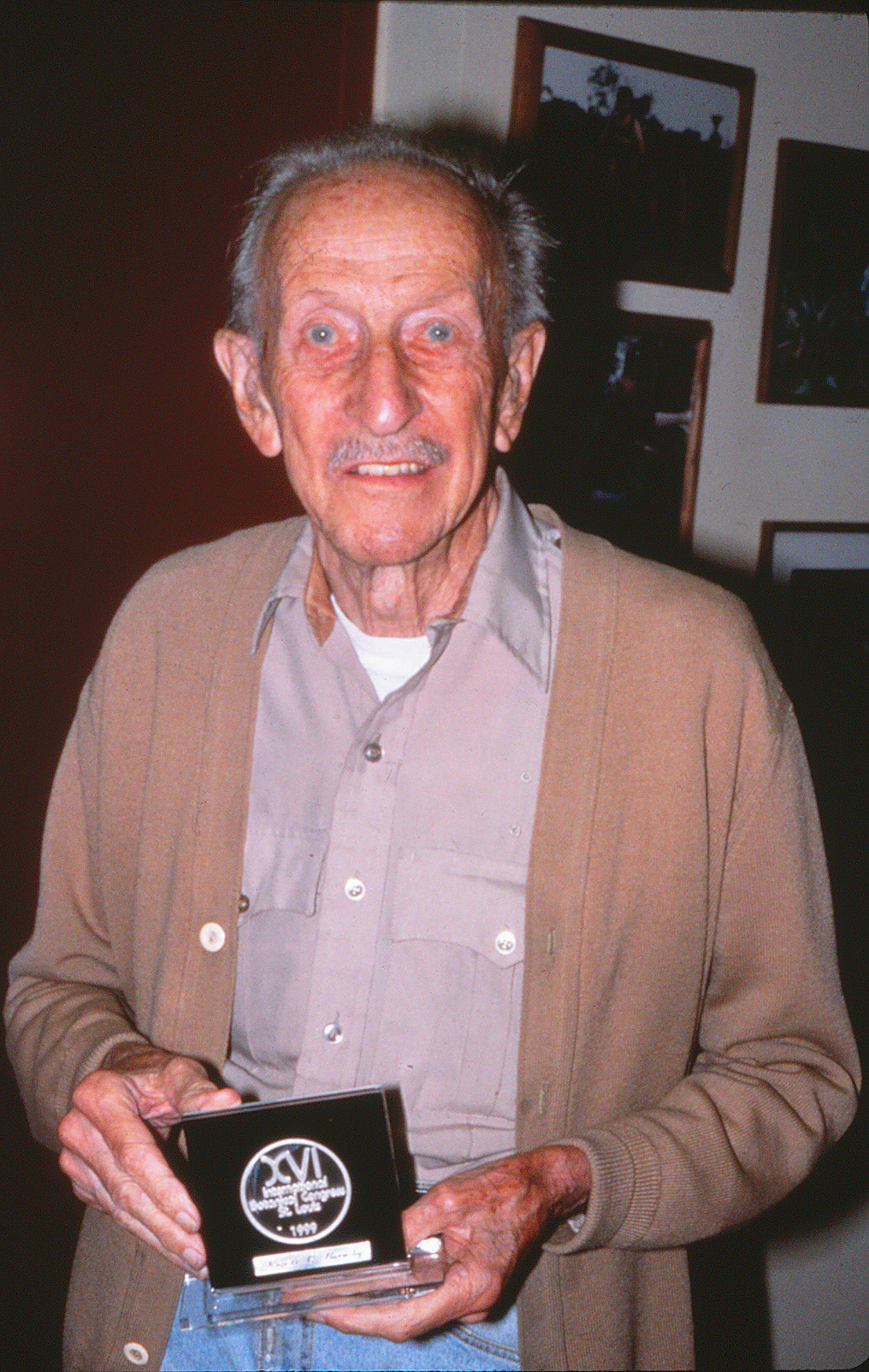 Rupert Barneby in 1999. Photo by S. A. Mori.