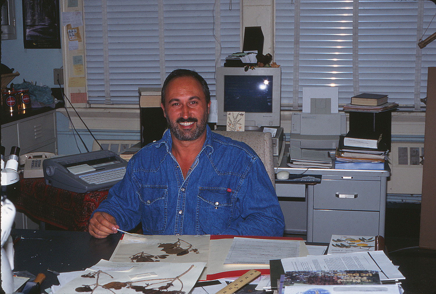 Piero Delprete in 1998. Photo by S. A. Mori.