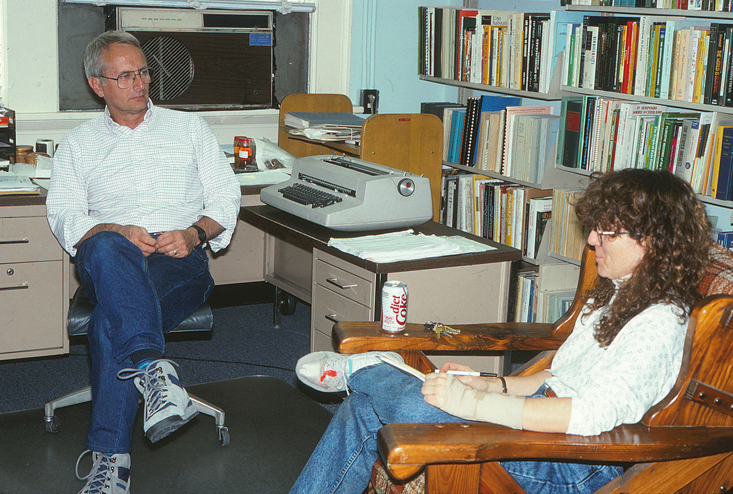 Scott A. Mori and Amy Litt in 1993. Photo by C. A. Gracie.