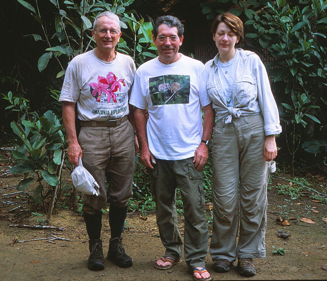 Scott Mori, Pierre Charles-Dominique, and Tatyana Lobova in 2002. Photo by Patrick Châtelet.