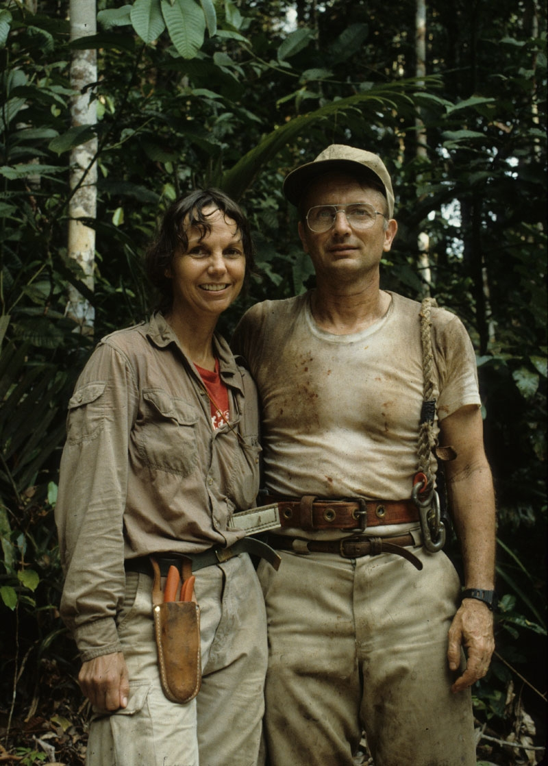 Carol Gracie and Scott Mori in Amazonas Brazil. Photographer not known.