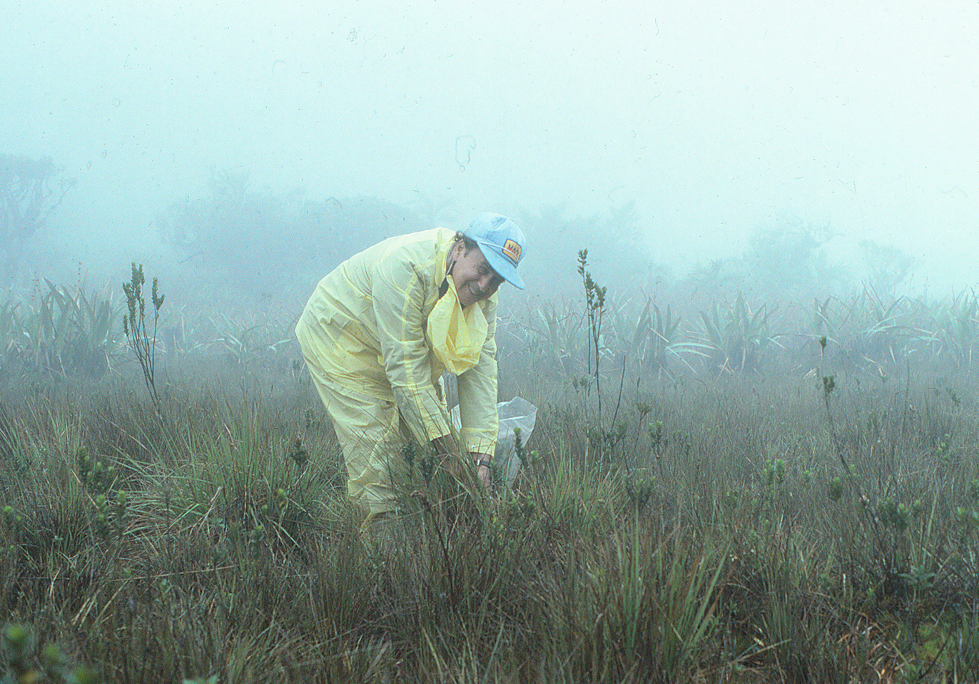Julian Steyermark in 1982. Photo by S. A. Mori.