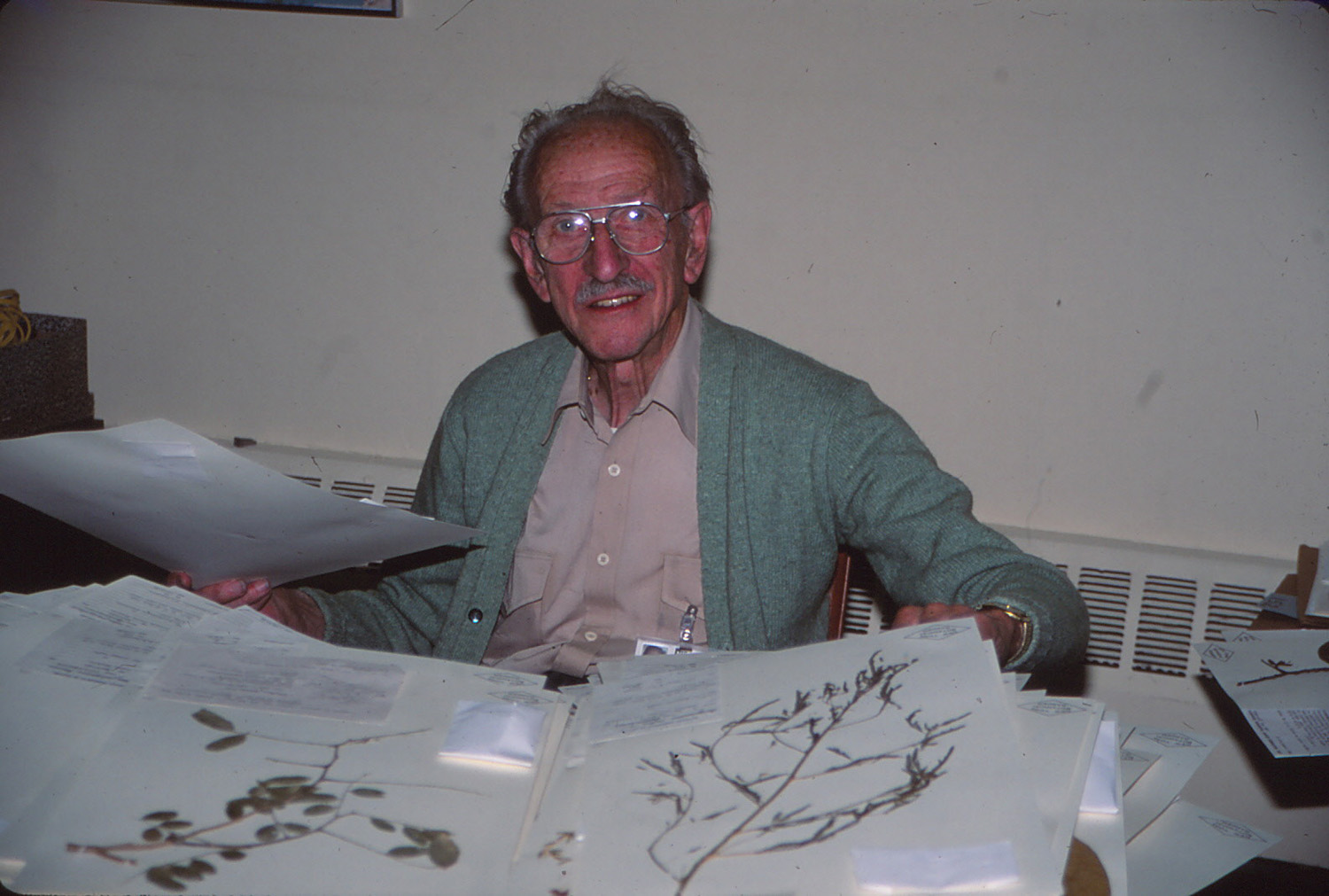 Rupert Barneby in 1995. Photo by C. A. Gracie.