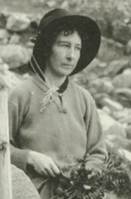 Photograph of Mary S. Clemens from the NYBG Archives